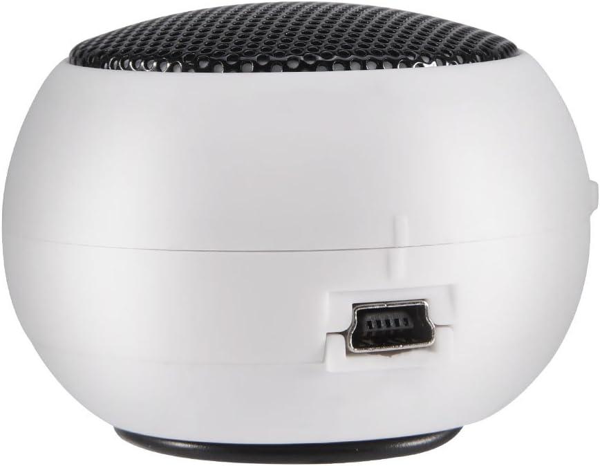Altoparlante Portatile da 3,5 mm Batteria Integrata per Telefono Cellulare MP3 PC Mini Altoparlante Nero