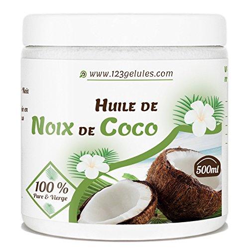 Huile de Coco - 500 ml - Vierge et Naturelle