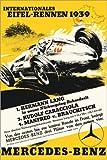 Poster 20 x 30 cm: Eifel-Rennen 1939 von Advertising