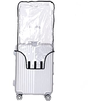 Travel Luggage Cover Smile Happy White Brown Dog Sunny Suitcase Protector