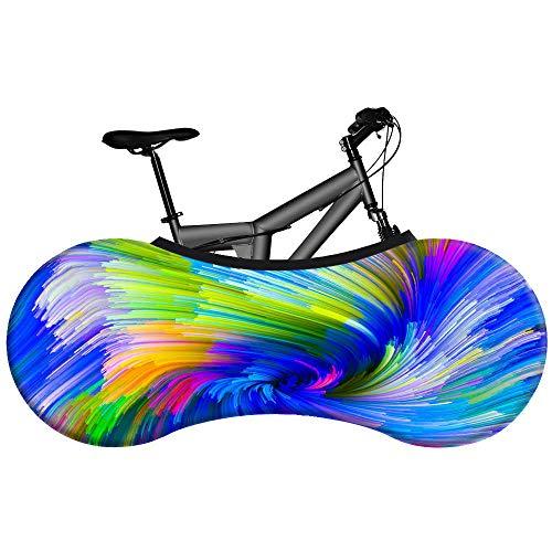 QQW Fahrrad Staubschutz Radkappe Mountainbike Auto Kleidung Staubschutz Abdeckung Elastische Staubschutz Sternenhimmel Serie-3_Einheitsgröße