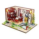 Dapei DIY Holzhaus Möbel Handwerk Miniatur Box DIY Kits Innovative Romantische Puppenhaus Bausatz...