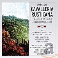 Cavalleria Rusticana -2 Legendare Aufnahmen- (2 Gesamtaufn. In ital. & engl.Spr.)