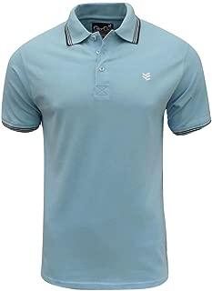 Gio GOI Men's Paco Polo T Shirt Blue