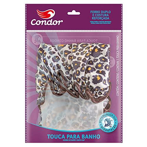 Condor Touca para Banho e Hidratação, Estampas Estilo Animal Print
