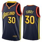 YPKL Stephen Curry Jersey, 2021 Temporada Golden State Warriors City Edition Camisetas de Baloncesto, Ropa Deportiva de Entrenamiento sin Mangas Unisex (S-XXL) M