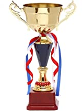 Trophies Medals & Awards Metal Trophy Creative Trophy Fashion Personality Trophy Creative Trophy Sales Trophy Company Excellent Staff Commend Trophy Sports Trophy (Color : Gold, Size : 4316cm)