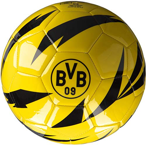 Puma Borussia Dortmund Fussball BVB ftblCore Fan Ball 083382 Cyber Yellow-Puma Black 5