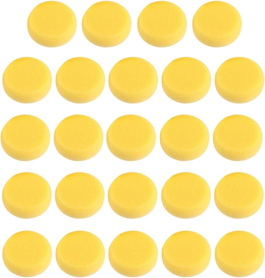 MILISTEN Ranking TOP1 1 Set 24Pcs Synthetic Sponges Artist Round Discount mail order Art