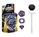 BeyBlade Burst Peonza con Lanzador Peonzas de Combate con Lanzador Set Beyblade con Lanzador y Anillo Muy Resistente Ideal para Regalo de San Valentín