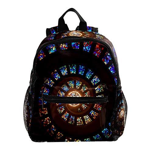 Kinderrucksack Whirlpool Schule Tasche Rucksack for Kinder Baby Jungen Mädchen Kleinkind 3-8 Alter 25.4x10x30 cm