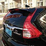 D28JD Car Spoilers arrière ABS Auto Hayon Décoration Aileron Wing Accessoires H-Onda CRV 2012-2016,Crystal Black,Not Punch