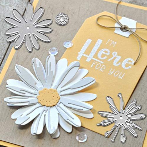 P12cheng Troqueles de corte de metal, plantillas de corte de flores para bricolaje, álbumes de recortes, manualidades, repujado, tarjeta de Navidad, Año Nuevo, decoración de tarjetas de felicitación