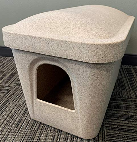 Horizon  Poly Kat Kave Litter Boxes for Maine Coons