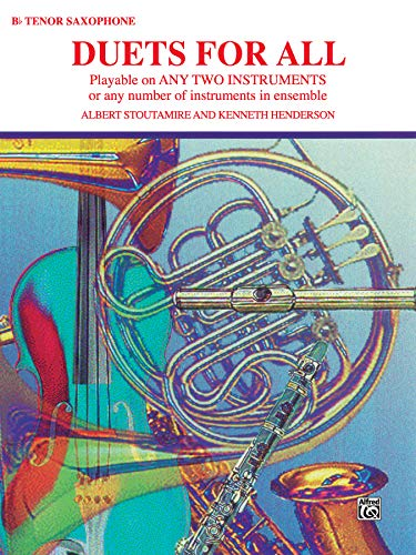 Duets for All: Tenor Saxophone (For All Series)