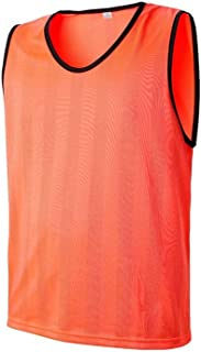 Soccer Pinnies Team Sports Breathable Mesh Scrimmage Training Vests for Kids, Youth and Adults- Sport Jerseys Soccer Pennies Sizes for Children Youth Adult (Color : C2, Size : Free)