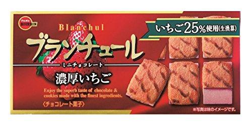 ブルボン ブランチュールミニチョコレート濃厚いちご 12個×10箱