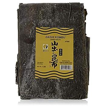 Premium Dried Seaweed for Dashi Kombu  Kelp  in Bulk   2 lb - 32 Oz