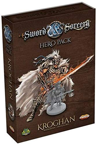 Ares Games Sword and Sorcery: Kroghan Hero Pack - English