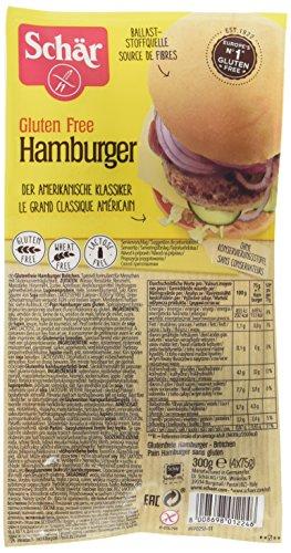 Schär Pains Hamburger sans gluten - Lot de 2