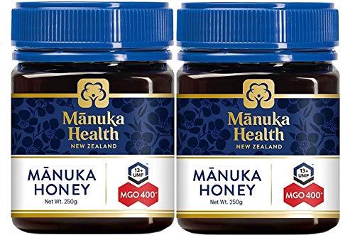 マヌカハニー(マヌカ蜂蜜)MGO400+ 250g 2個 [並行輸入品]
