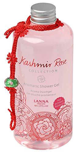 Lanna Oriental Spa aromatisk duschgel kashmirros, 300 ml - orientalisk spa