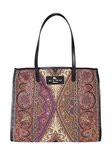 Etro Luxury Fashion Donna 1N00858488000 Multicolor Poliestere Borsa A Mano | Stagione Permanente