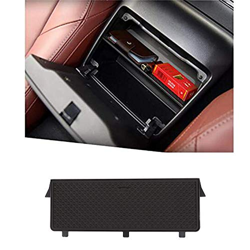 YIWANG - Bandeja organizadora para consola central de coche, reposabrazos, con panel de partición, caja de almacenamiento para MX-5 RF Miata 2015-2019