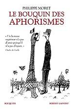 Le Bouquin des aphorismes de Philippe MORET