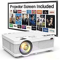 QKK QK02 Full HD 1080p LCD Projector