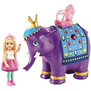 Mattel Barbie Chelsea Doll with Elephant