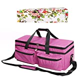 CACTIYE Double-Layer Carrying Bag Compatible with Explore Air and Maker, Waterproof Tote Bag Compatible with Explore Air and Supplies (Pink-2, 1+1)