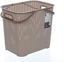XinQing-Storage basket Plastic Storage Basket Hamper Household Clothing Basket Toy Storage Basket 370 * 432 * 320mm