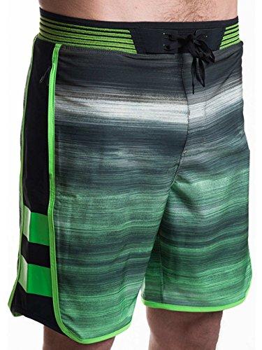 Hurley Boardshorts–Phantom Hyperweave Motion Fast Boardshor, Rage Green, 38