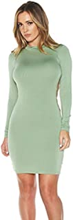 Jenner Dress Long Sleeve Sexy Backless Style