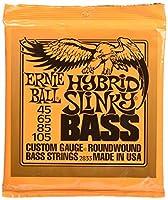 【正規品】 ERNIE BALL ベース弦 ハイブリッド (45-105) 2セット 2833 HYBRID SLINKY BASS 2SET