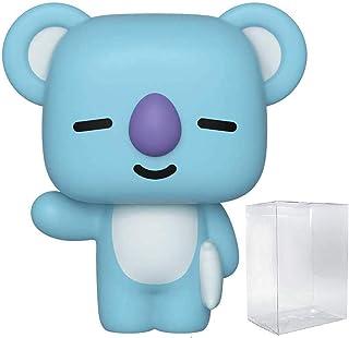 Pop Animation: Line Friends - Koya Pop! Vinyl Figure (Includes Compatible Pop Box Protector Case)