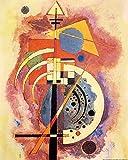 1art1 Wassily Kandinsky - Hommage An Grohmann, 1926 Poster