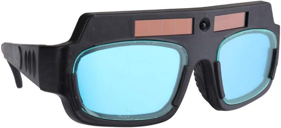 Gafas de soldadura de oscurecimiento automático de soldadura Solar gafas de seguridad y protección ojos saltones, anti-niebla antideslumbrante soldador Gafas -Negro