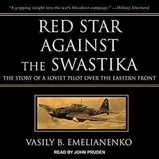 Red Star Against the Swastika audiobook cover art