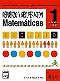 Refuerzo y recuperación. Matemáticas 1 (Cuadernos ESO) - 9788421833162