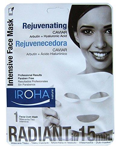 Iroha maschera caviale e arbutina, 3-pack (3 x 23 ml)