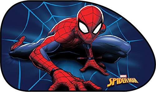 Marvel Spiderman Side SUNSHA - Toldo Lateral para Coche Individual con diseño de Spiderman para...