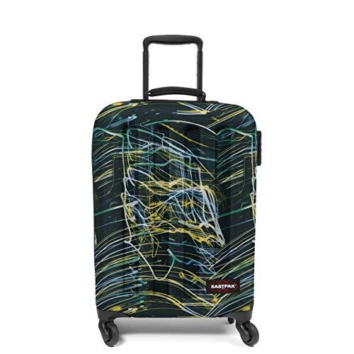 Eastpak Tranzshell S Suitcase, 54 cm, 32 L, Multicolour (Blurred Lines)