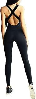 Class-Z Damen Sport Jumpsuit,Bedruckte Fitness Lang Einteiliger D/ünn Sport Yoga Overall Laufende Fitness Workout Gym Enge Hose