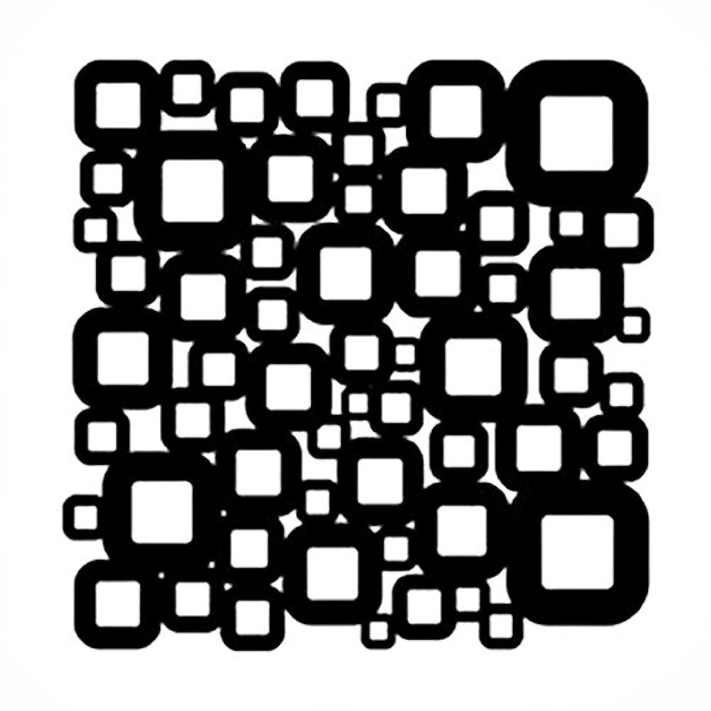 Stencil 6in x 6in Retro Squares