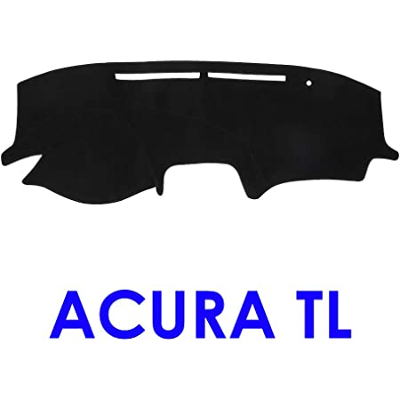 Dashboard Cover Dash Cover Mat Custom Fit for Acura TL 2004 2005 2006 2007 2008 with Climate Sensor,Without Dash Speakers and Headlight Gray Y02