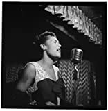 Perfect Posters and Pics Billie Holiday Downbeat Club New