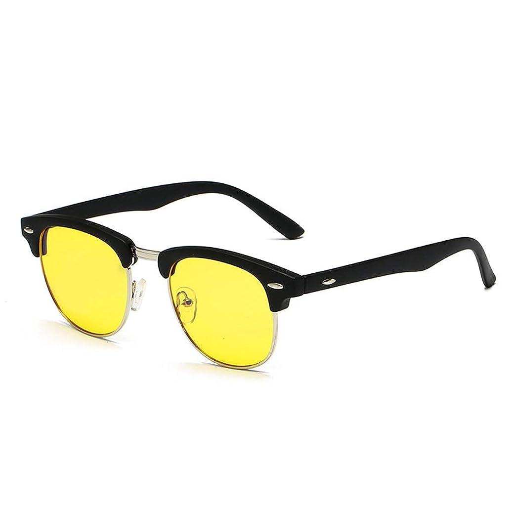Glasses Blue Wakeful Blocking Computer for Anti Eyestrain Anti Glare Lens Jackanapes Frame Eyeglasses for Men Women (Color : 03Yellow, Size : Free)