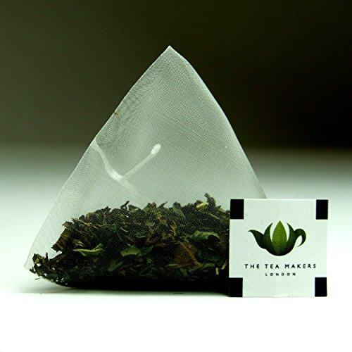The Tea Makers of London Peppermint Leaves Herbal Tea Triunes - 100 Tea Bags